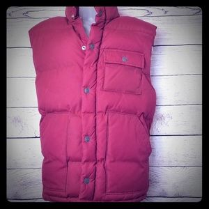 OLD NAVY SIZE M VEST RED